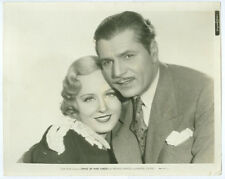 WARNER BAXTER, MADGE EVANS original movie photo 1934 STAND UP AND CHEER