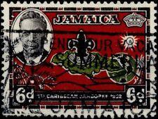 JAMAICA   1951   Prima festa dei Caribi - Filigrane CA multiple - Dentelés 13 -