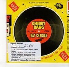 (DJ470) Chiddy Bang, Ray Charles - 2011 DJ CD