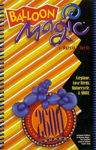 BALLOON MODELLING BOOK BALLOON MAGIC FIGURE TYING 260Q BOOK BY MARVIN HARDY
