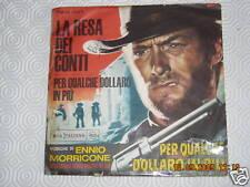 PER QUALCHE DOLLARO IN PIU - 1965 E. MORRICONE  45 giri