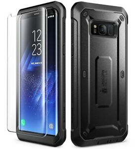 For Samsung Galaxy S8 / S8 Plus Case SUPCASE Holster Cover+Tempered Glass Screen