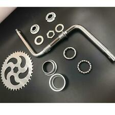 "2"" Cup Wide Pedal Crank Kit One Piece Crank for 2 Stroke Motor - Motorized Bike"