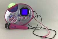 Vtech Kid Super Star Karaoke Machine MP3 Microphone Toy Tested Works NO Stand