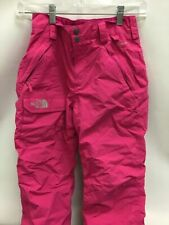The North Face Girl's M (10/12) Ski or Snow Pants Pink with cargo pockets