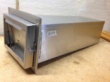 """Restaurant Spring Loaded Table Top Stainless Steel Napkin Holder Model TDN 20""""L"""