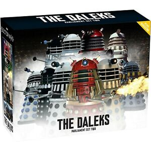 Eaglemoss Doctor Who: The Daleks Parliament 10-Piece Set 2 w/ Magazine In Stock