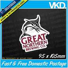 Great Northern Brewing Co. Sticker/Decal - Beer Mancave Bar Pub Ute Stubby Bogan