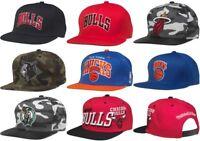 NBA Snapback Cap Hat, Chicago Bulls, Miami Heat, New York Knicks, Boston Celtics