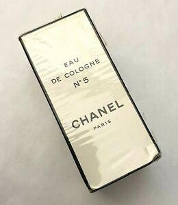 CHANEL NO 5 EAU DE COLOGNE 59 ml 2 fl oz VINTAGE RARE