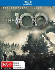 The 100 The Complete Season Series 1, 2 & 3 Blu ray Box Set 11-Disc Set RB