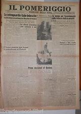 18 agosto 1943 Guerra in Sicilia battaglia di Messina Raf Genova Vella Lavella