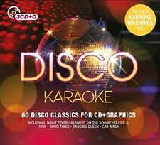 KARAOKE/DISCO KARAOKE (White, Barry,  Village People, Abba, Chic) 3 CD NEU
