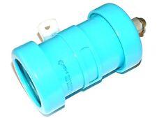 K15Y-2 10kV 220pF 100kVar ceramic HV doorknob capacitors. Lot of 1 pc. NEW, NOS!