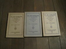 EDITIONS MAZDEENNES/ G et C BUNGE:  la vie humaine et ses problèmes. 3 volumes