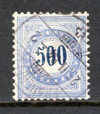 Switzerland - 1882 Postage Due -  Mi. 14 K VFU (thin spot)