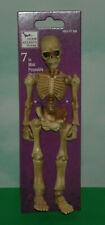 "1/10 Scale Poseable Human Skeleton Action Figure - Plastic 7"" Halloween Prop"