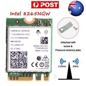 AU 8265AC Intel 8265NGW NGFF 2.4G/5G Bluetooh 4.2 WiFi Wireless Dual Band Card