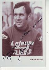 CYCLISME repro PHOTO cycliste ALAIN BERNARD équipe LEJEUNE JOBO signée