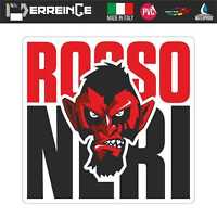 Sticker MILAN DIAVOLO Adesivo Parete Decal Laptop Murale Vinile Bandiera Ultras