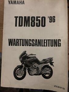 yamaha tdm 850 4tx  Werkstatthandbuch