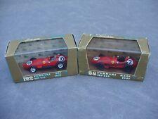 BRUMM 1:43 R68 1957 FERRARI D246 & R122 1957 FERRARI 801 DIE-CAST RACE CARS