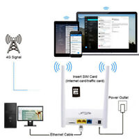 300Mbps 3G/4G Wifi Router 4GHz Wireless CPE WAN/LAN Port with SIM card Slot
