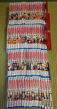 NARUTO 1- 72 Manga Complete Set Masashi Kishimoto Japanese comic Ninja Shinobi