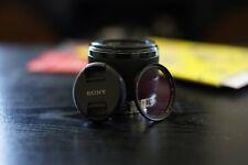 Sony FE 50mm f/1.8 Lens for Sony Full-Frame Cameras with UV Filter