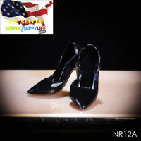 """1//6 Female high heels w// bow jewelry for 12/"""" figure hot toys phicen kumik ❶USA❶"""