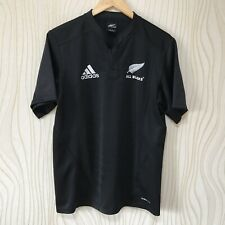 ALL BLACKS 2010 RUGBY SHIRT JERSEY ADIDAS 916737 BLACK