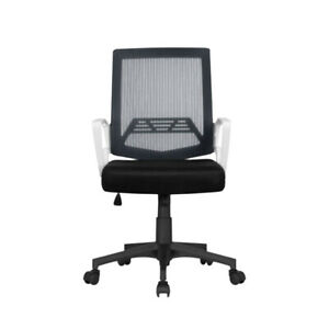 Mesh Computer Desk Office Chair Game Chair Cushioned with Lumbar Support