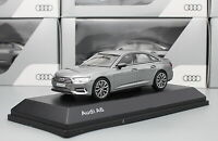 1/43 Scale Audi A6 2018 Gray Diecast Car Model Toy Collection Gift