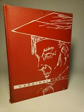 1959 WHITTIER HIGH SCHOOL YEARBOOK / ANNUAL 'CARDINAL' WHITTIER, CALIFORNIA