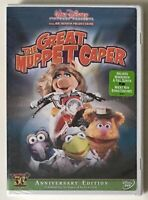 The Great Muppet Caper (DVD, 2005, 50th Anniversary Edition) New Factory Sealed