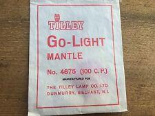 Authentique TILLEY MANTLE TYPE 4675 Go-Light Mantle 100cp. Dunmurry Belfast