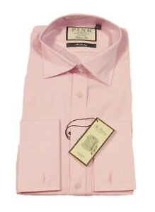 Pink Thomas Pink Men's Solid The Sterling Classic Fit DressShirt