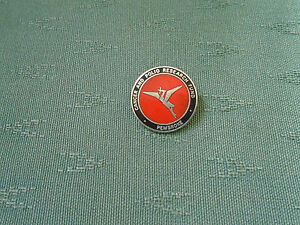 OLD PEMBROKE CANCER & POLIO RESEARCH FUND ENAMEL PIN BADGE - GAUNT