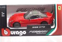 Bburago 36011 FERRARI 599 GTO - METAL 1:43 Race&Play