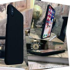iPhone 10 Durable Light Weight  Hardened Thin Anti-Slip Bumper  Matte Black Case