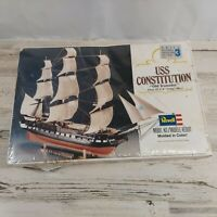 Vintage Revell USS Constitution Old Ironsides Model New In Box