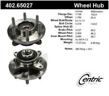 Axle Bearing and Hub Assembly-Premium Hubs Front Centric 402.65027
