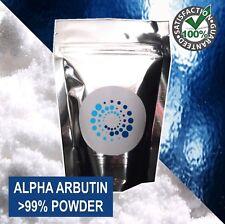 10g PURE ALPHA ARBUTIN POWDER >99%; Skin lightener / whitener / scar treatment