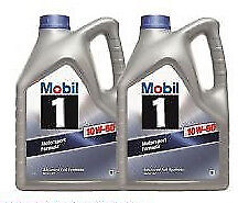 Mobil 1 10w-60 Advanced Full Synthetic Engine Oil - 2 x 5 Litres 10L