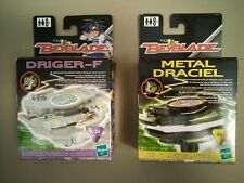 BEYBLADE METAL DRACIEL and DRIGER-F SPIN TOYS BY HASBRO