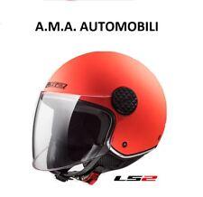 CASCO LS2 OF558 SPHERE LUX GLOSS MATT ORANGE MOTO/SCOOTER LEGGI DESCRIZIONE!