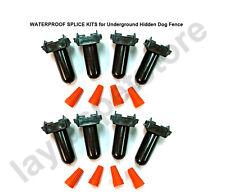 WATERPROOF SPLICE KITS Set of 4 8 Total for Underground Hidden Dog Fence