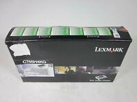 New Lexmark C746H4KG Return Program Black High Yield Toner Print Cartridge