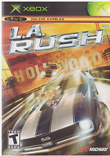 LA Rush (Xbox, 2005) INCLUDES INSTRUCTIONS