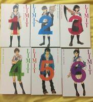 LIMIT ENGLISH MANGA LOT SHOJO MANGA VOLUMES 1-6 COMPLETE